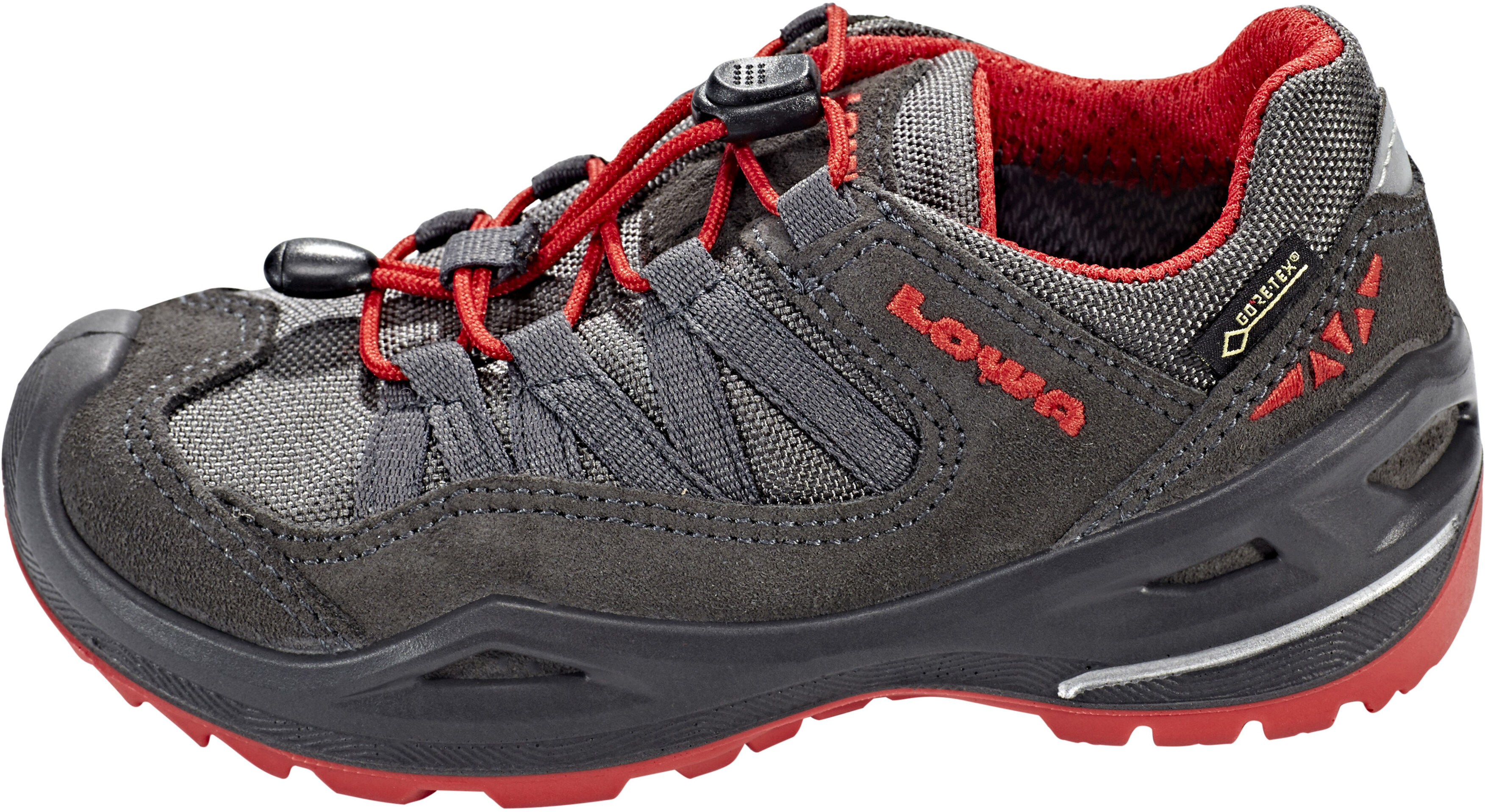 a45b77dcd30 Lowa Robin GTX Shoes Children grey red at Addnature.co.uk